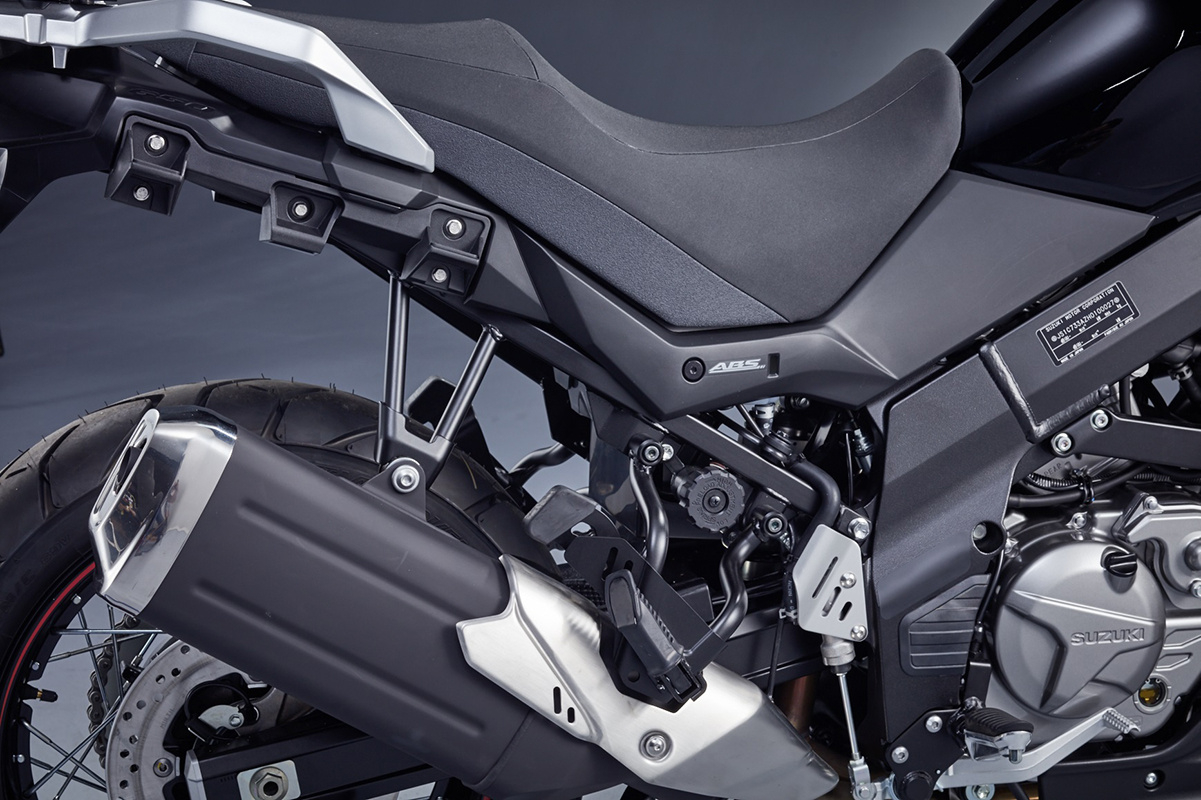 V-Strom 650 Standard Side Case Carrier Bracket