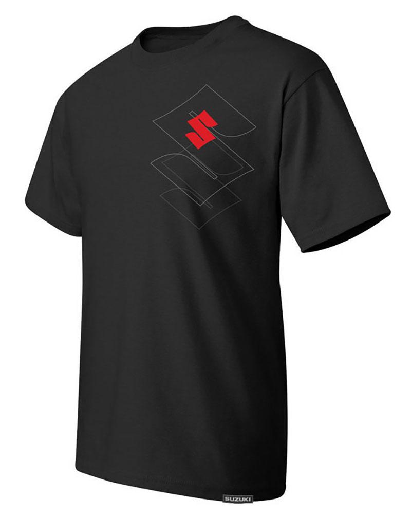 Suzuki 'S' Outline T-shirt