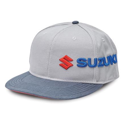 Suzuki Sideways Flat-billed Cap