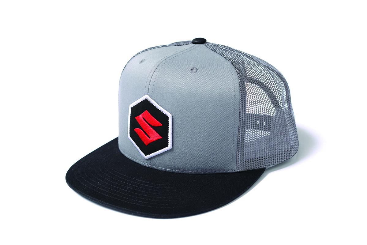 Suzuki 'S' Patch Trucker Hat