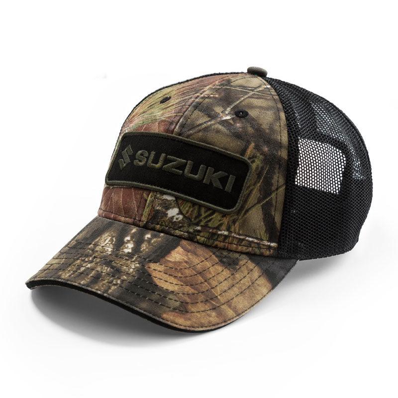 Suzuki Camo Snapback Hat