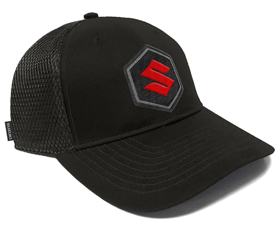 Suzuki 'S' Patch Hat