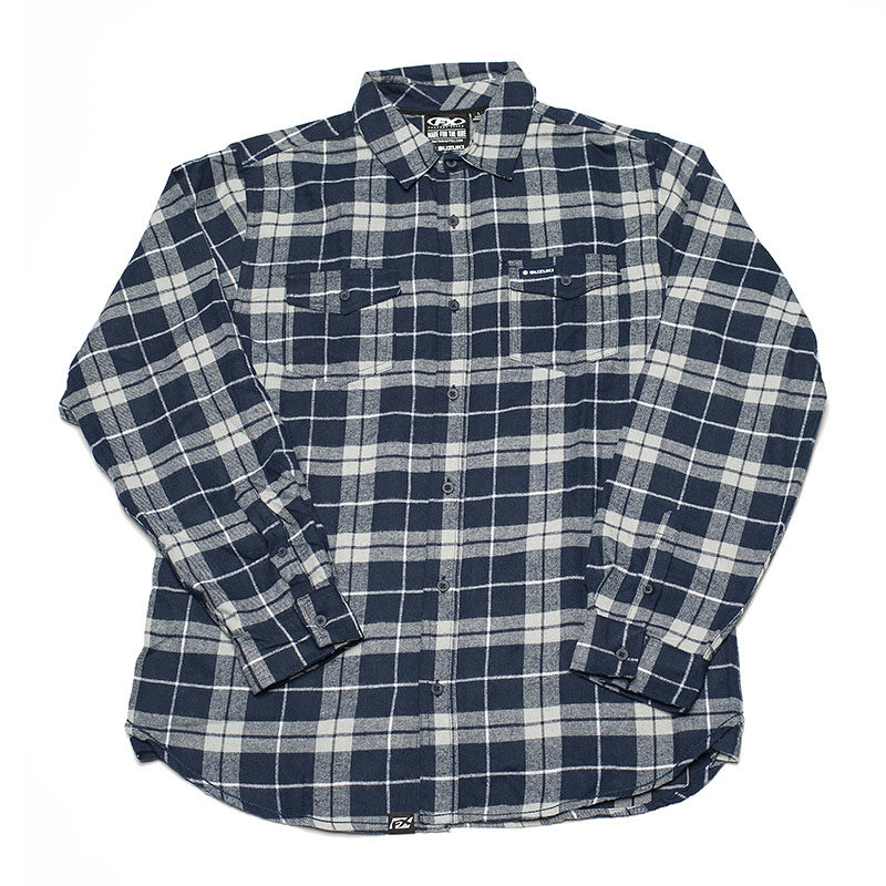 Flannel Button-up Shirt