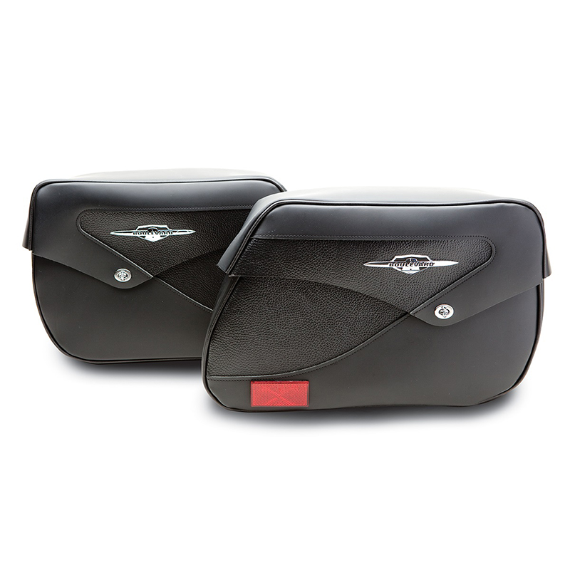 Deluxe Leather Saddlebags