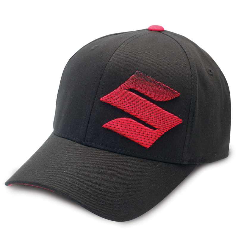 Suzuki Embroidered 'S' Logo Hat