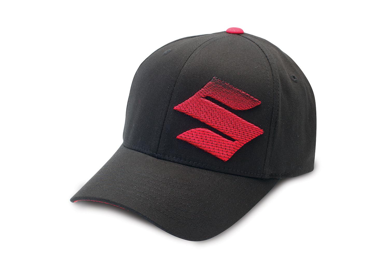 Suzuki Embroidered 'S' Logo Hat