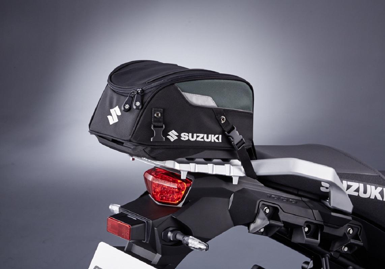 Rear Bag Fixation Straps