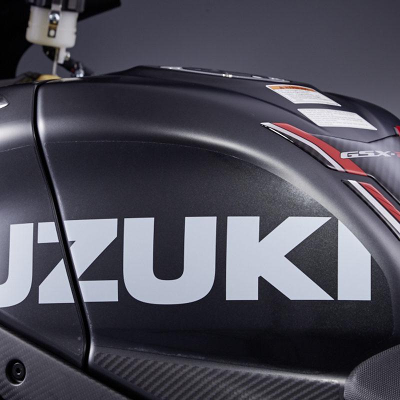 Suzuki Logo Fuel Tank Protection Foil Set