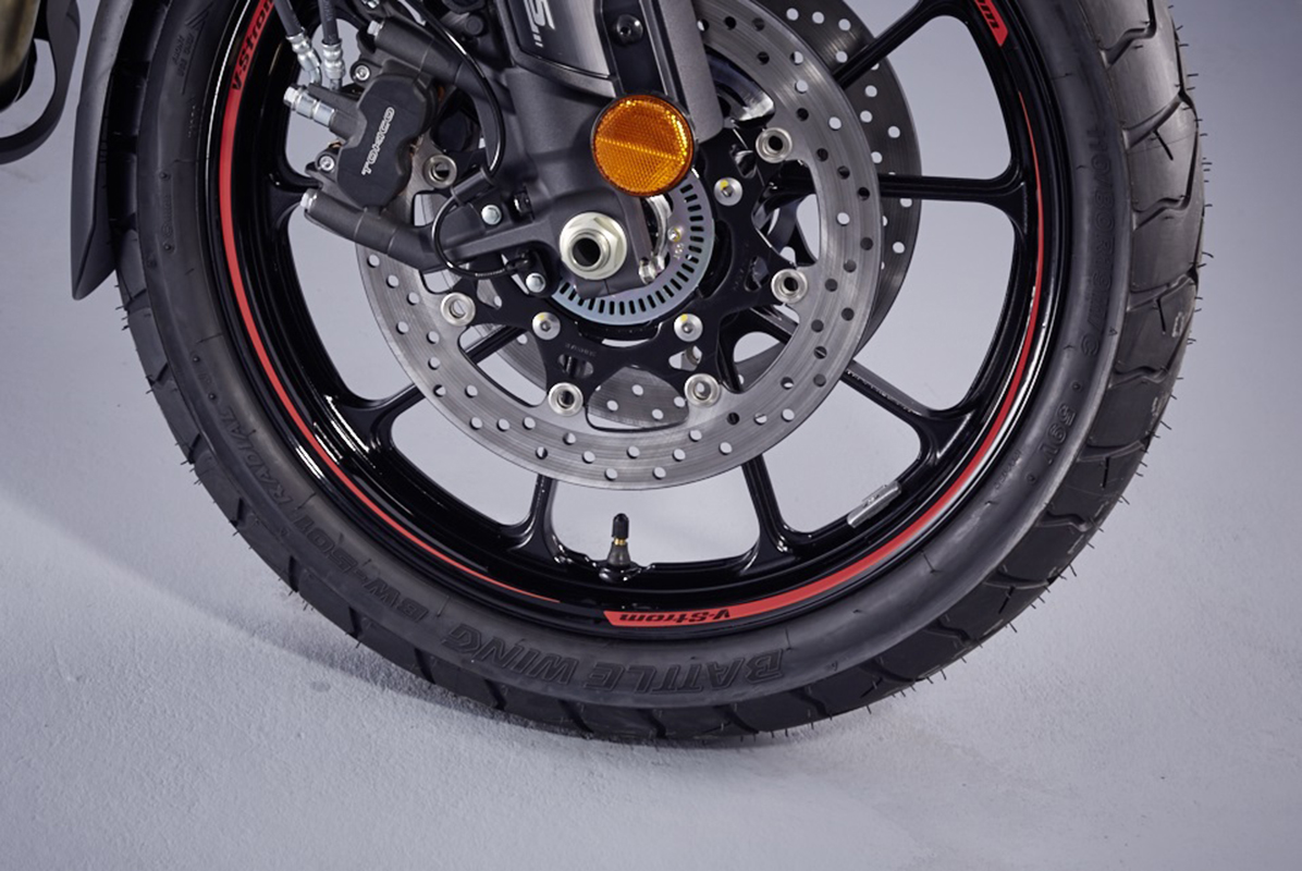 V-Strom Logo Wheel Decals