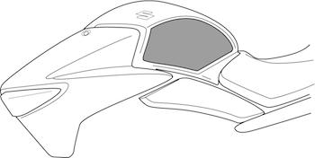 Tank Side Protector (Transparent Foil)