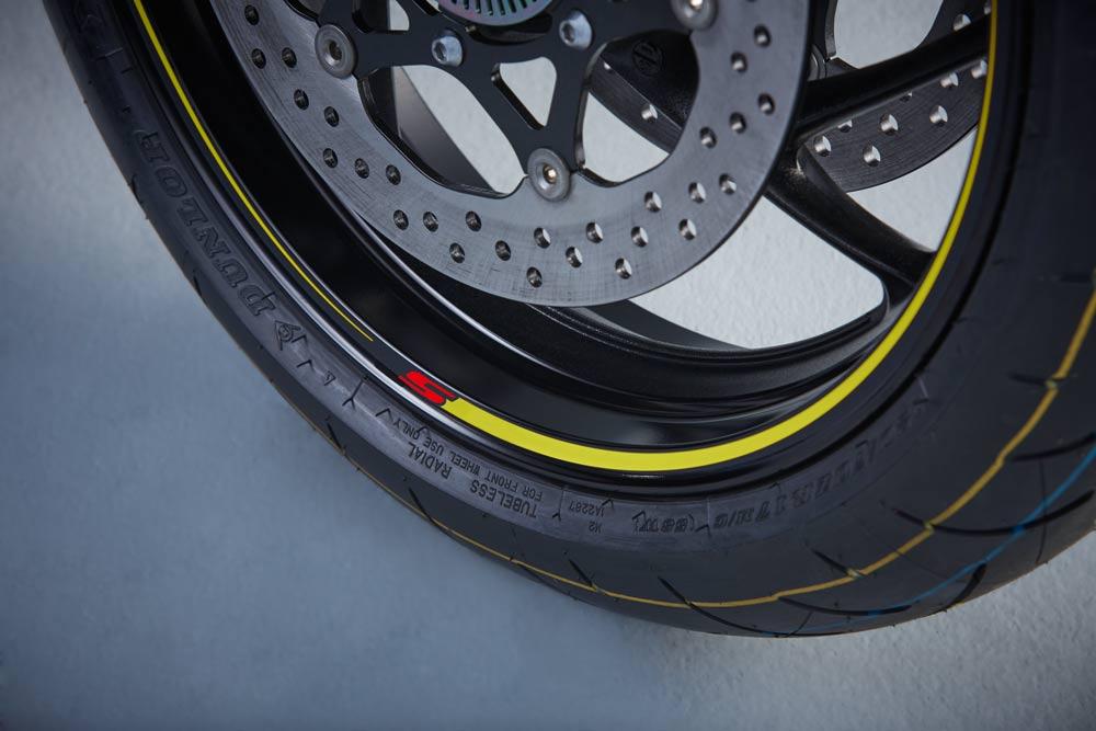 Suzuki 'S' Wheel Decals