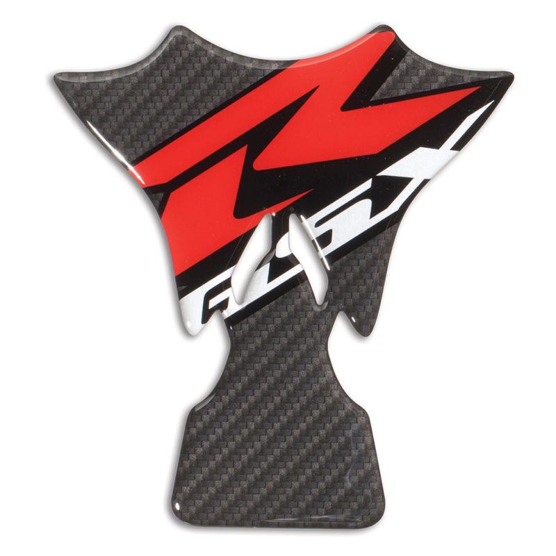 GSX-R600 Logo Tank Pad (Carbon Fiber Effect)