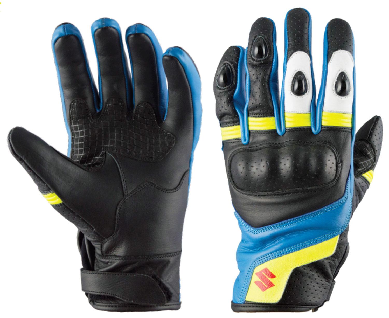 SIGI GSX-R Blue and Yellow Glove