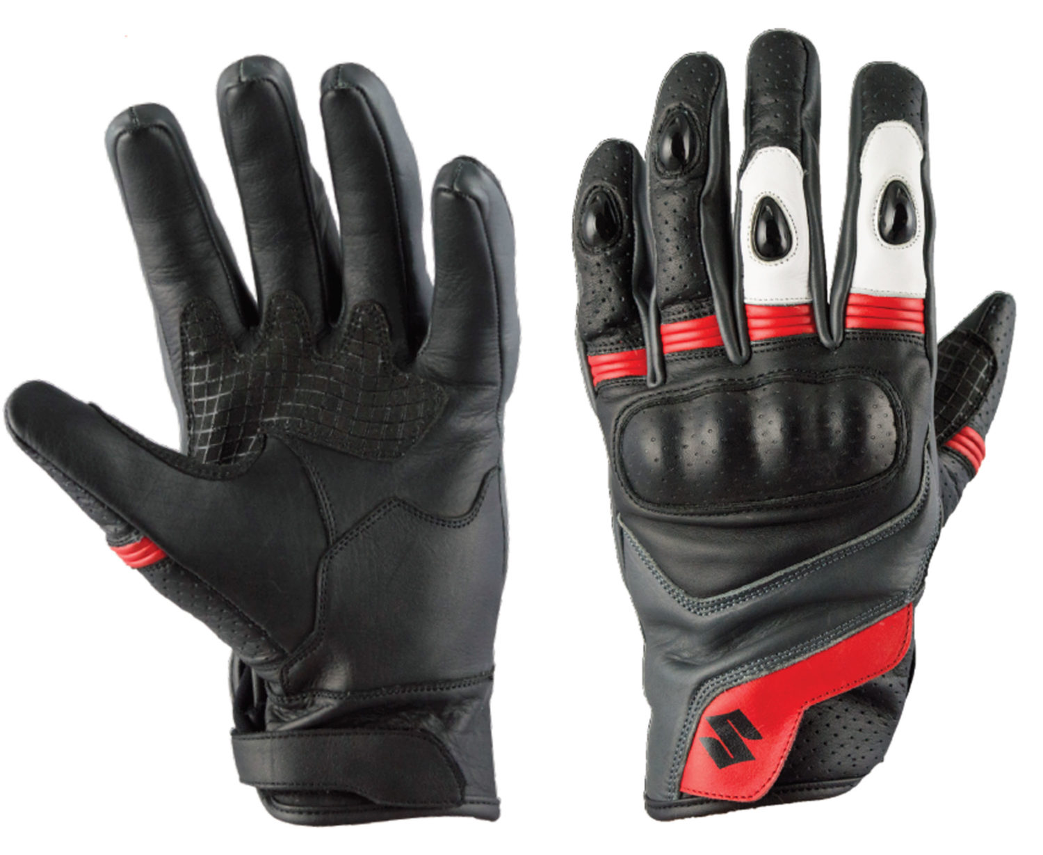 SIGI GSX-R Red and White Glove