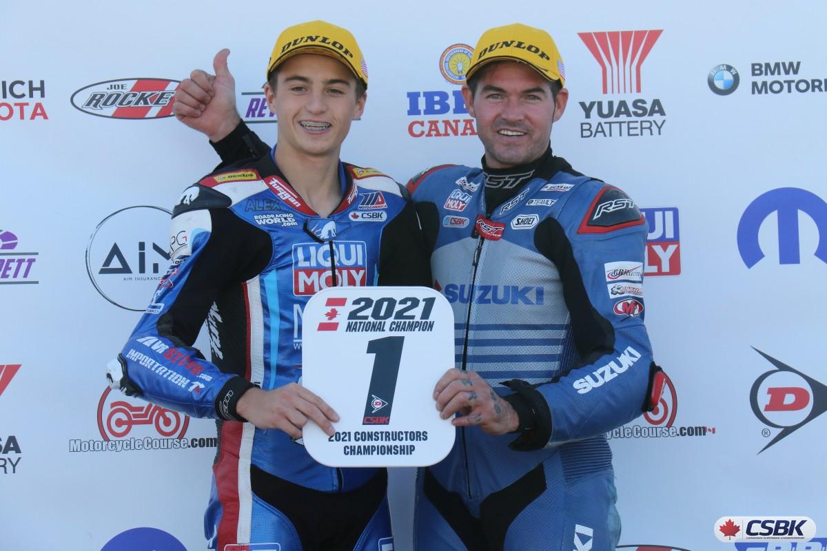 CSBK Dumas and Daley
