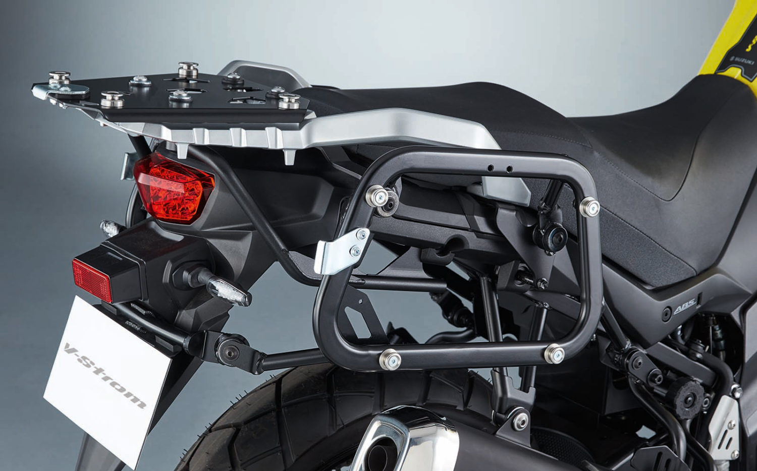 V-Strom 650 Sidecase Carrier Kit