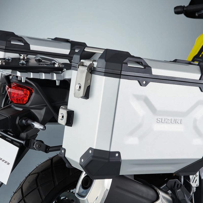 V-Strom Aluminum Sidecase Set