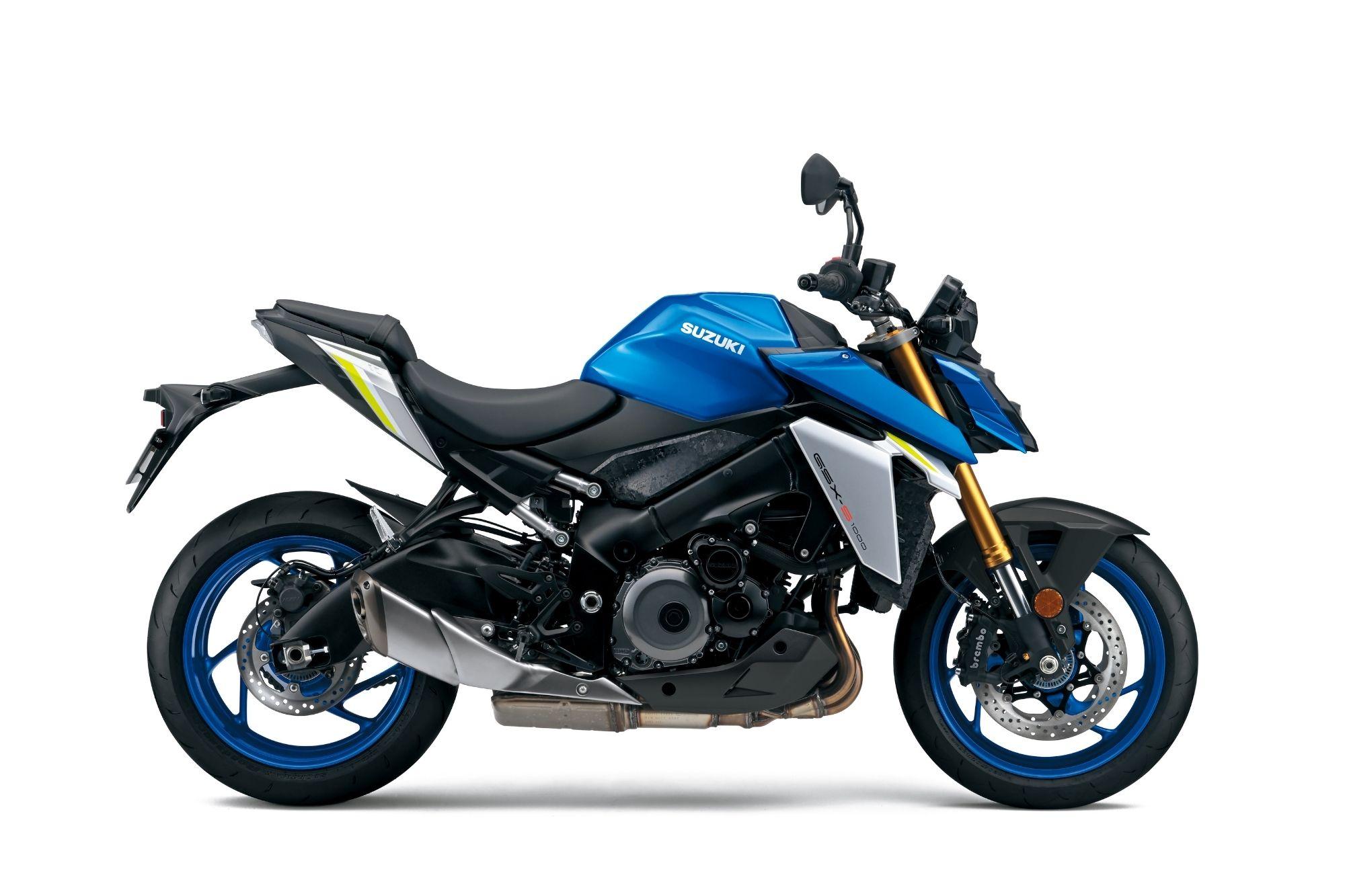 GSX-S1000 - Blue BCK