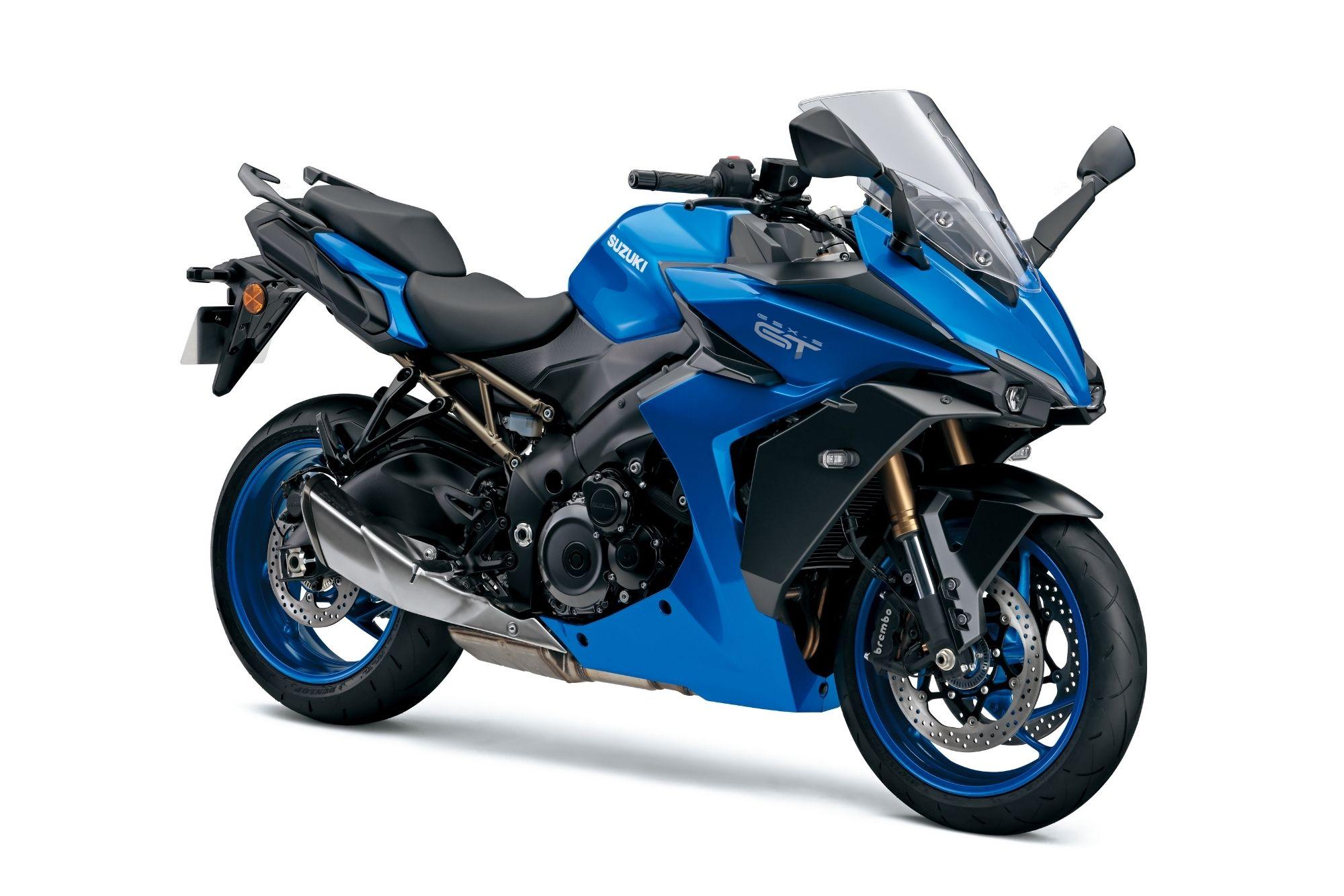 GSX-S1000GT - Blue FRT