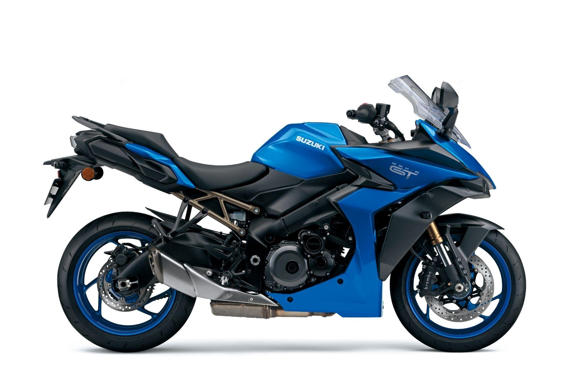 GSX-S1000GT - Blue SIDE