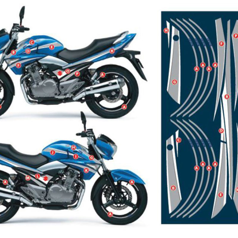 GW250 Multi-Panel Graphic Kit