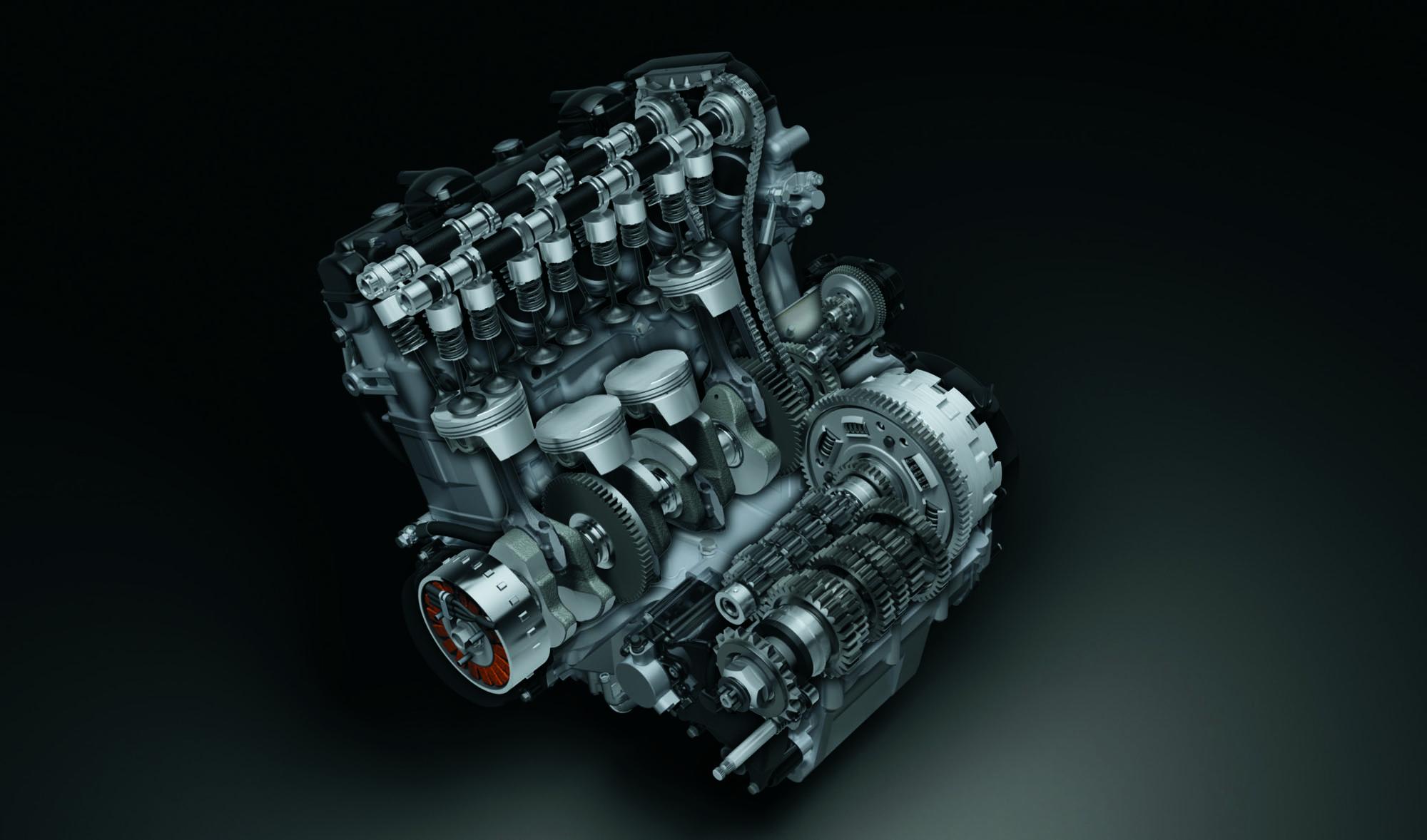 2019 Hayabusa DOHC 1340cm3 Engine