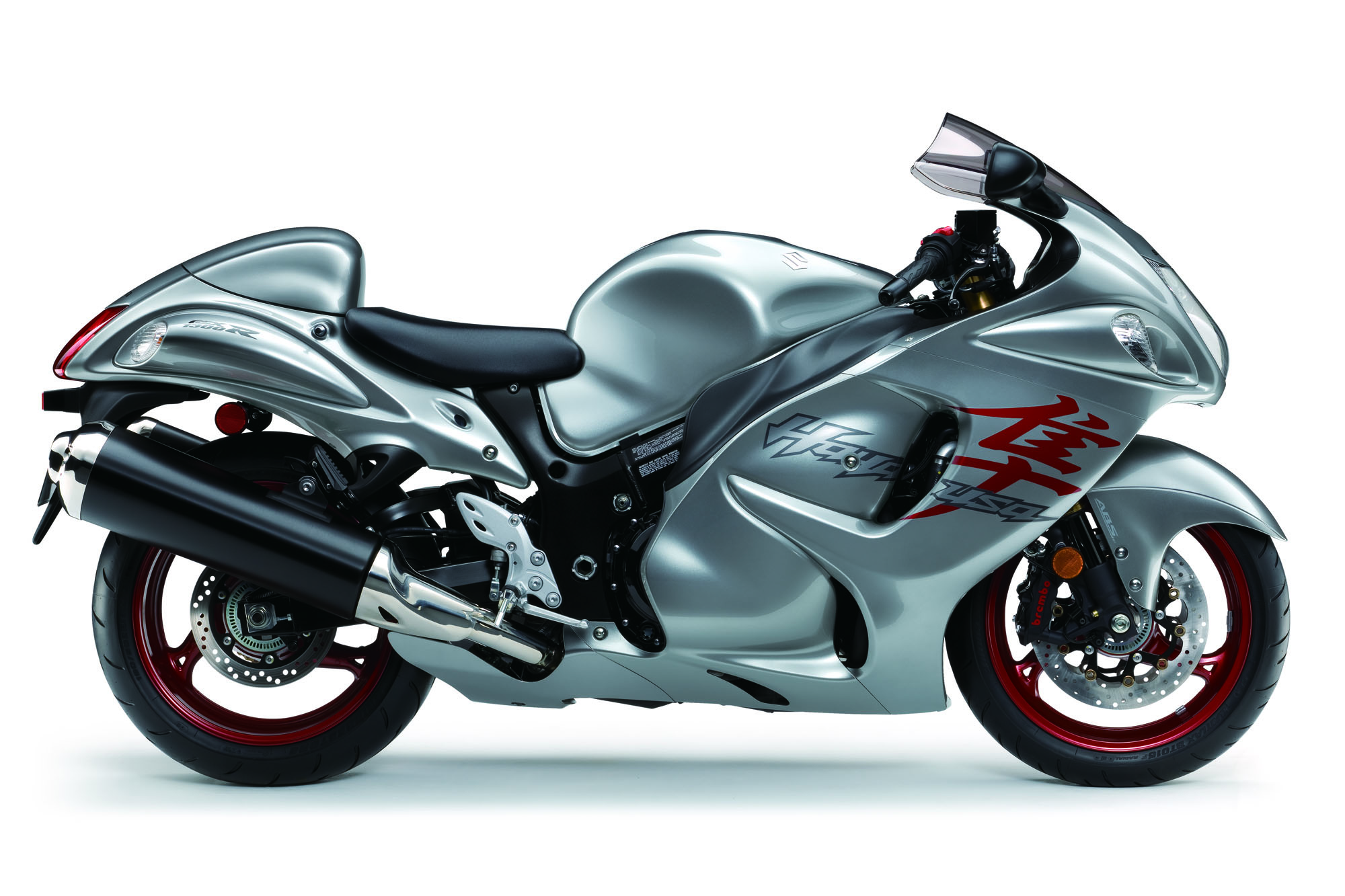 2019 Right View Gray Hayabusa