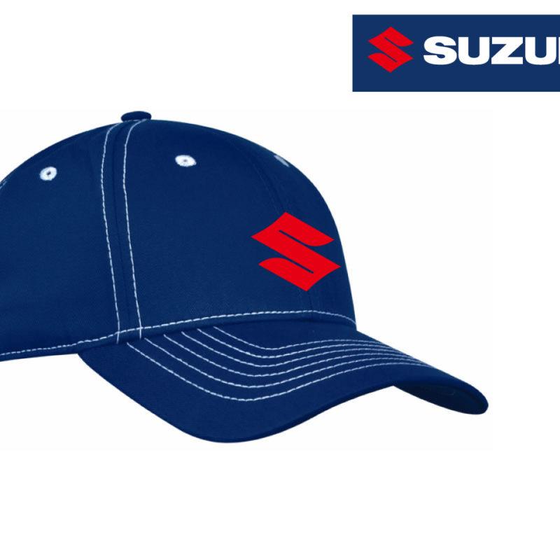 Suzuki 'S' Logo Baseball Cap