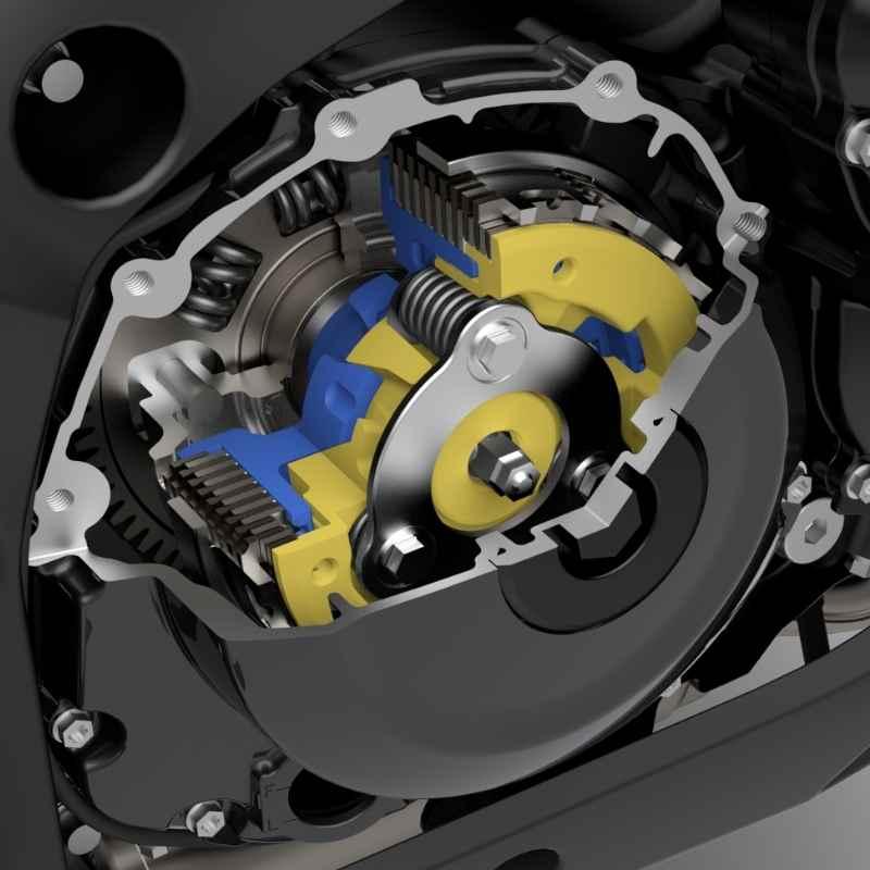 Suzuki Clutch Assist System (SCAS)