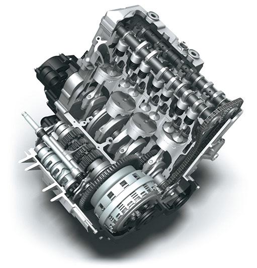 GSX-R750 Engine